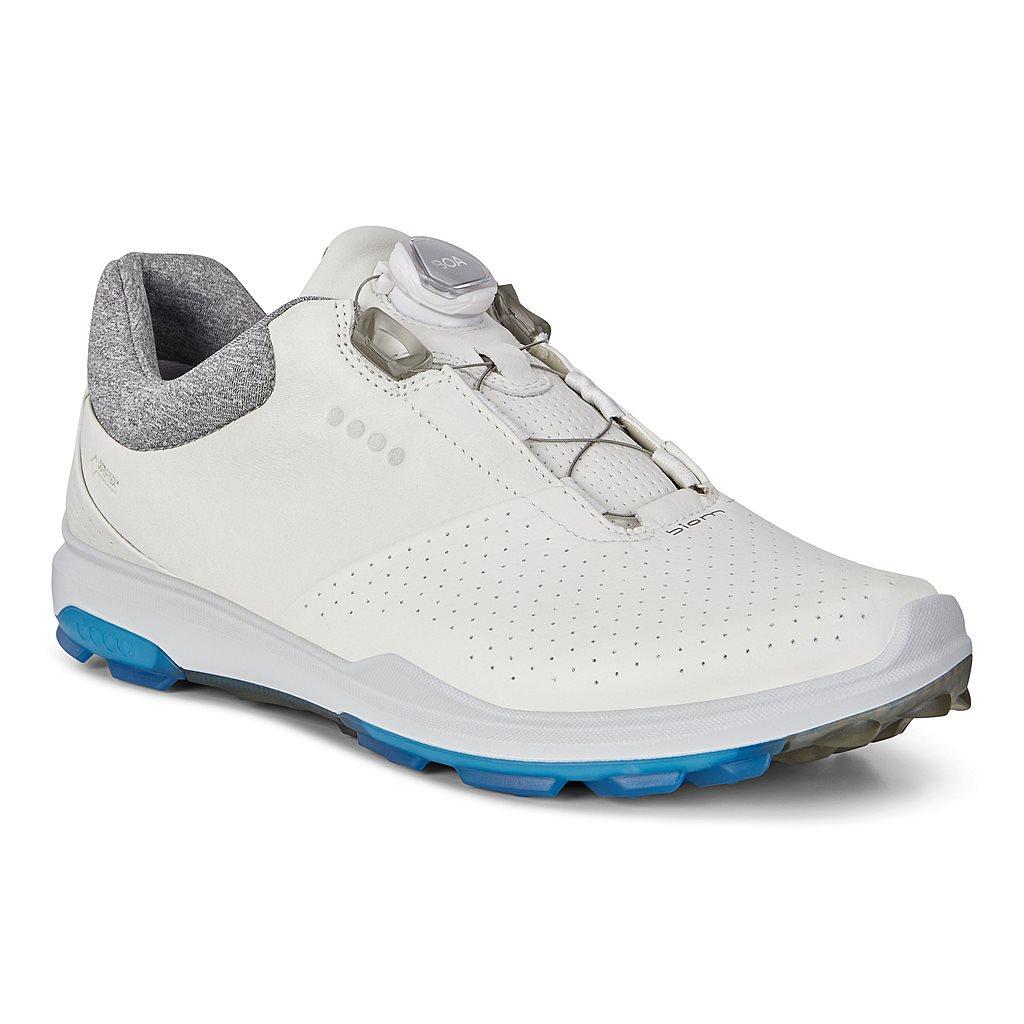 Ecco Biom Hybrid 3 Weiß Golfschuhe Für Herren   Outlet