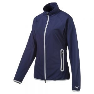 Puma Full Zip WInd Jacke blau
