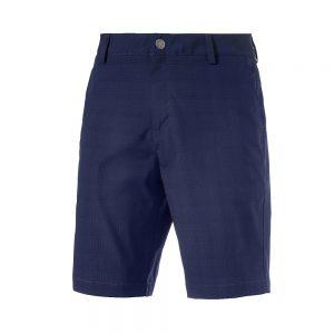 Puma Tailored Mesh Golf Short Herrenhose in blau.