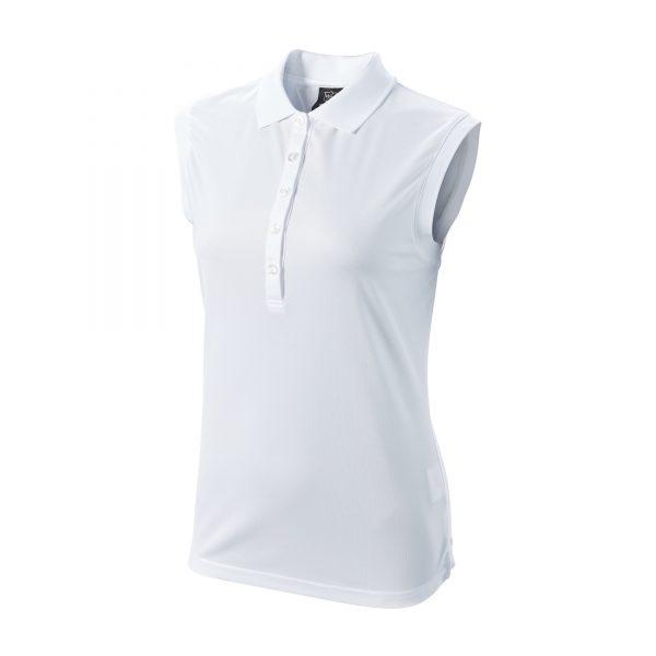 Wilson Staff Sleeveless Polo Damen weiß