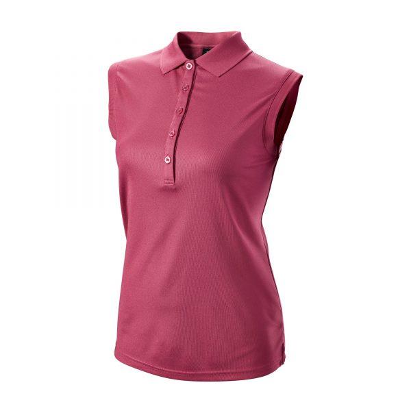 Wilson Staff Sleeveless Polo Damen violett