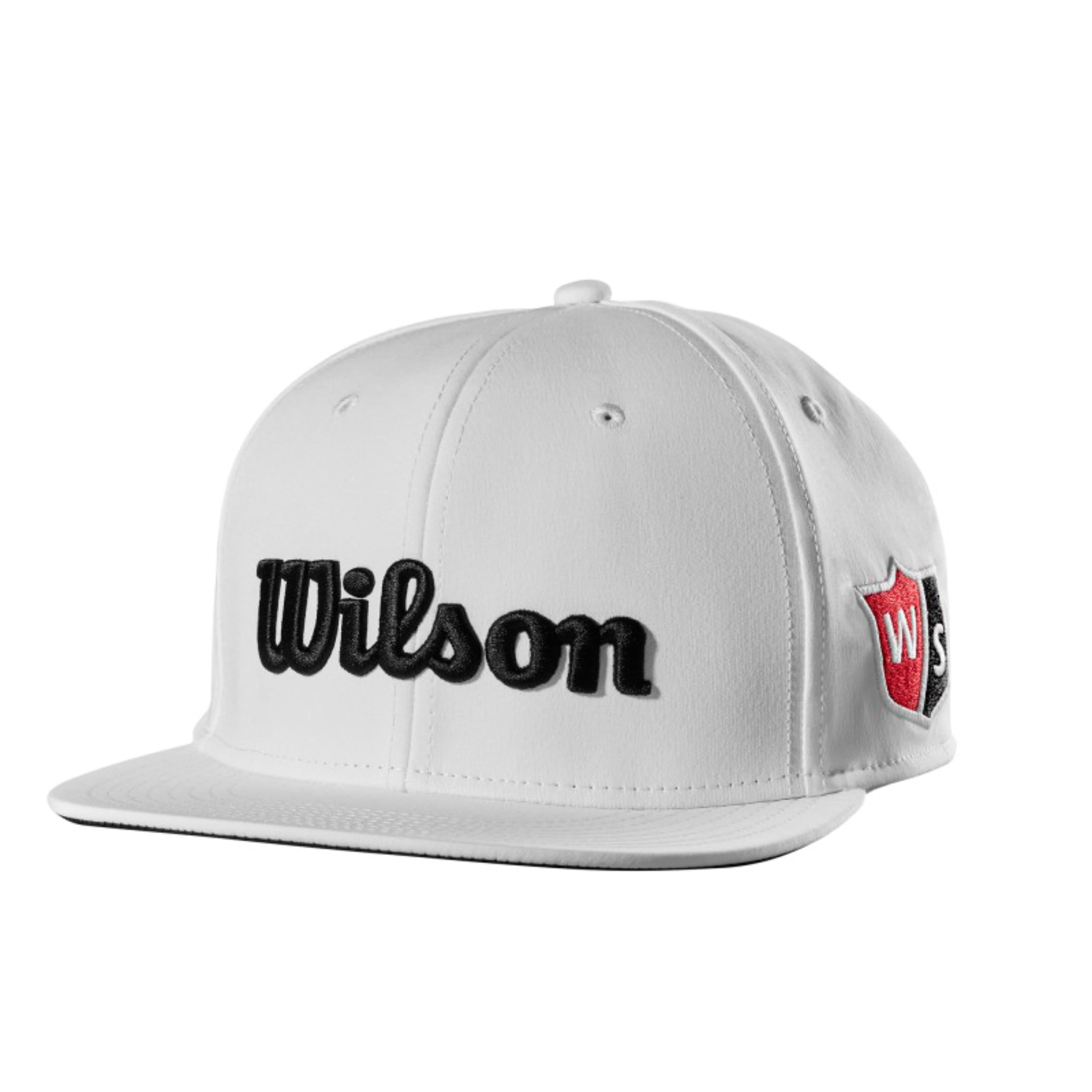 Wilson Staff Flat Brim Cap - Golfshop Maas 986e9ba89a0f