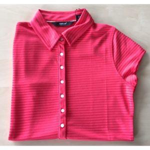 Abacus Ladies's Pond drycool Polo coral Damenpoloshirt