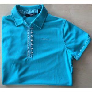Abacus Ladies's Linden drycool Polo türkis Damenpoloshirt