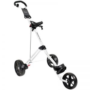 Masters 3 Series white 3-Rad-Push-Trolley