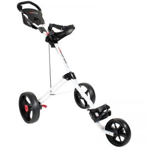 Masters 5 Series white 3-Rad-Push-Trolley