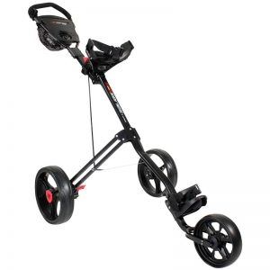 Masters 5 Series black 3-Rad-Push-Trolley