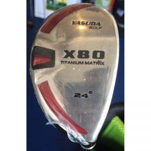 Yasuda Golf X80 Titanium Matrix 24° Hybrid