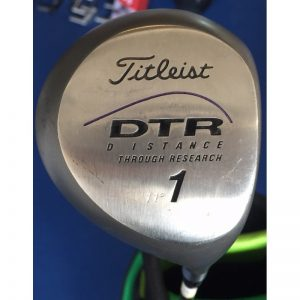 "Titleist DTR ""Distance through Research"" Holz 1 11° Stahlschaft Ladies Flex Driver"