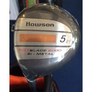 Howson FireBlade 2000 Bi-Metal Fairwayholz 5 21° Regular Flex Linkshand