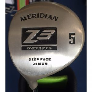 Meridian Z3 Oversized Deep Face Fairwayholz Stahlschaft