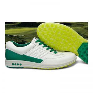 Ecco Street Evo one white/ masters green Herren Golfschuh