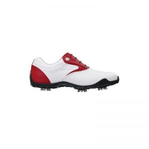 Footjoy LoPro Collection weiß/rot Damen Golfschuh Style 97154k