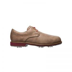 Footjoy City tan/burgundy Herren Golfschuh Style 56401k