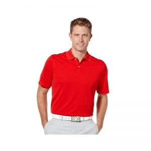Callaway Poloshirt opti-dri salsa rot Golfpolo