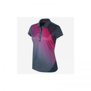 Nike Women's Graphic Wrap Polo multicolor lila Damenpoloshirt