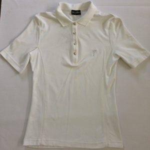Golfino Kurzarm Damen Poloshirt - Weiß