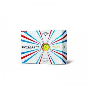 Callaway SuperSoft 2015 gelb 12er-Pack Golfbälle
