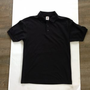 Fruit of the Loom Herren Poloshirt - Schwarz