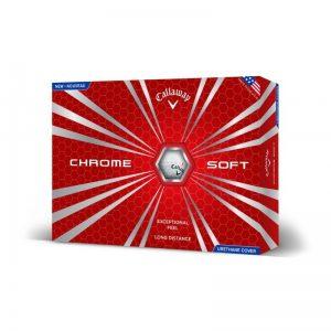 Callaway Chrome Soft 2015 weiß 12er-Pack Golfbälle