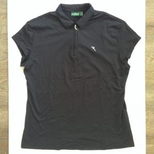 Chervo Damen Poloshirt - Schwarz