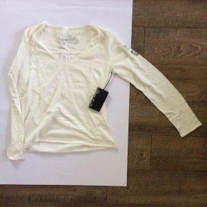 More & Ritz lang ämigen Damen T-Shirt - weiß