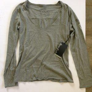 More & Ritz lang ämigen Damen T-Shirt - grau