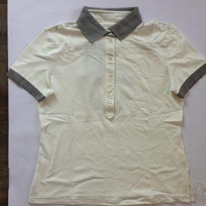 More & Ritz Damen Poloshirt - weiß