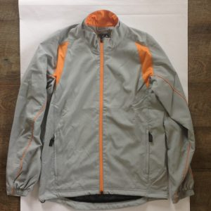 Adidas Herren Windjacke - grau und orange