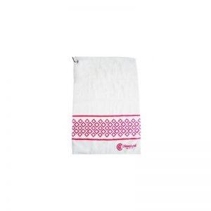 Cleveland Damen Handtuch - weiß und rosa