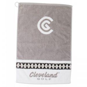 Cleveland Damen Handtuch - grau und weiß