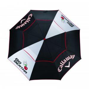 """Callaway Big Bertha 64"""" 163cm Double Canopy Regenschirm Golfschirm"""