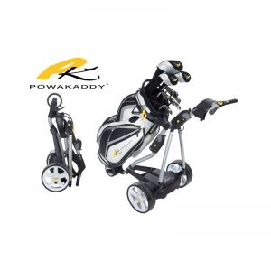 Powakaddy FW7 EBS Lithium black Elektrotrolly