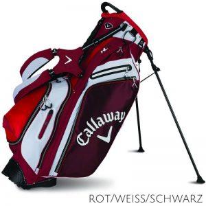 Callaway Hyper-Lite 5 Stand bag - rot, weiß und navy
