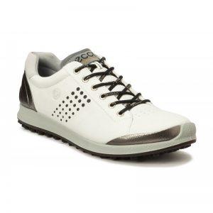 Ecco Biom Hybrid 2 white/black Herren Golfschuh
