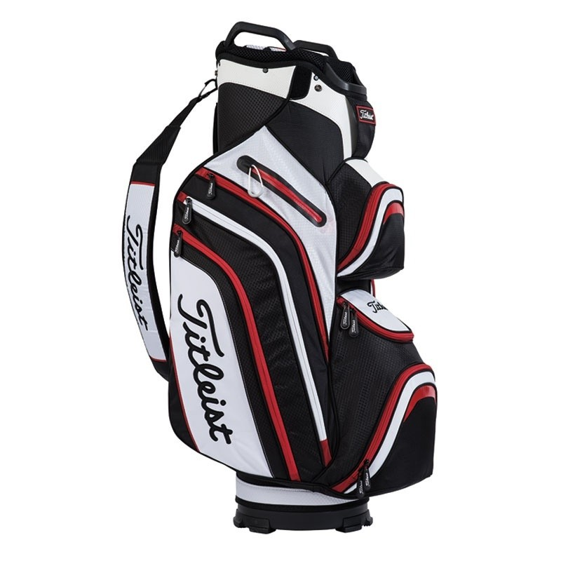 titleist deluxe cartbag hochfunktionelles cartbag mit viel stauraum. Black Bedroom Furniture Sets. Home Design Ideas