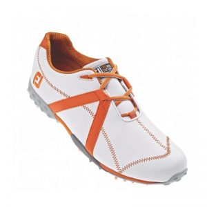 Footjoy M:Project weiß/orange Herren Golfschuh Style 55116k