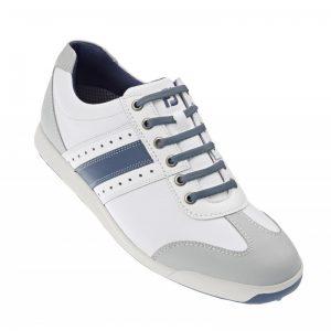 Footjoy Contour Casual weiß/blau Herren Golfschuh Style 54281k