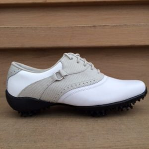 Footjoy LoPro Collection weiß/grau Damen Golfschuh Style 97044k