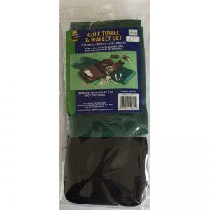 Sherwood Golf Towel & Wallet Set Schlägertuch und Brieftasche