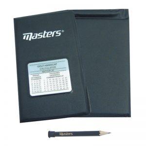 Masters Deluxe Scorekartenhalter Schutzhülle
