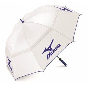 Mizuno Twin Canopy Umbrella weiß Regenschirm Golfschirm