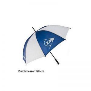 Dunlop DGA Umbrella weiß/blau 120cm Regenschirm Golfschirm