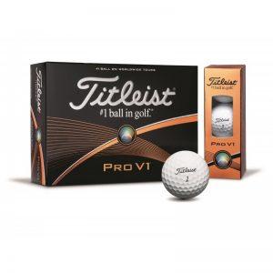 Titleist Pro V1 3er-Pack Golfbälle