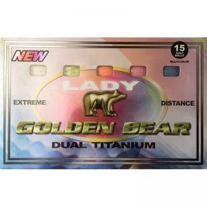 Golden Bear Dual Titanium Lady 15er-Pack Golfbälle