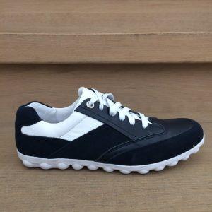 CultDesign Golf Brindisi blau/weiß Damen Golfschuh