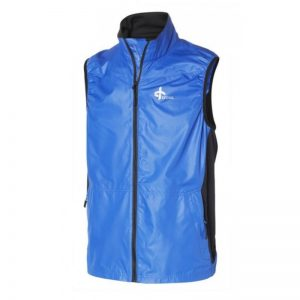 Cross Vapor Vest blue Windbreaker Herrenweste