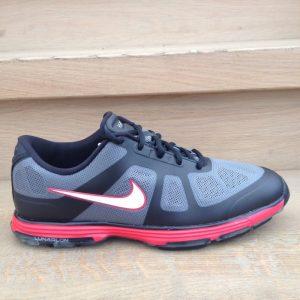 Nike Lunar Ascend schwarz/grau/rot Herren Golfschuh