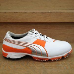 Puma Spark Sport 2 weiß/orange Herren Golfschuh