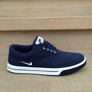 Nike Lunar Swingtip CNVS dunkelblau Herren Golfschuh